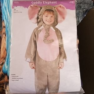 Cuddly elephant costume